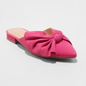 a new day pink bow mule / new